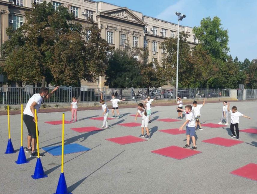 """MINI MINI"" – Elementary school ""SVETOZAR MILETIĆ"", GO ZEMUN – 18.09.2020. YEARS"