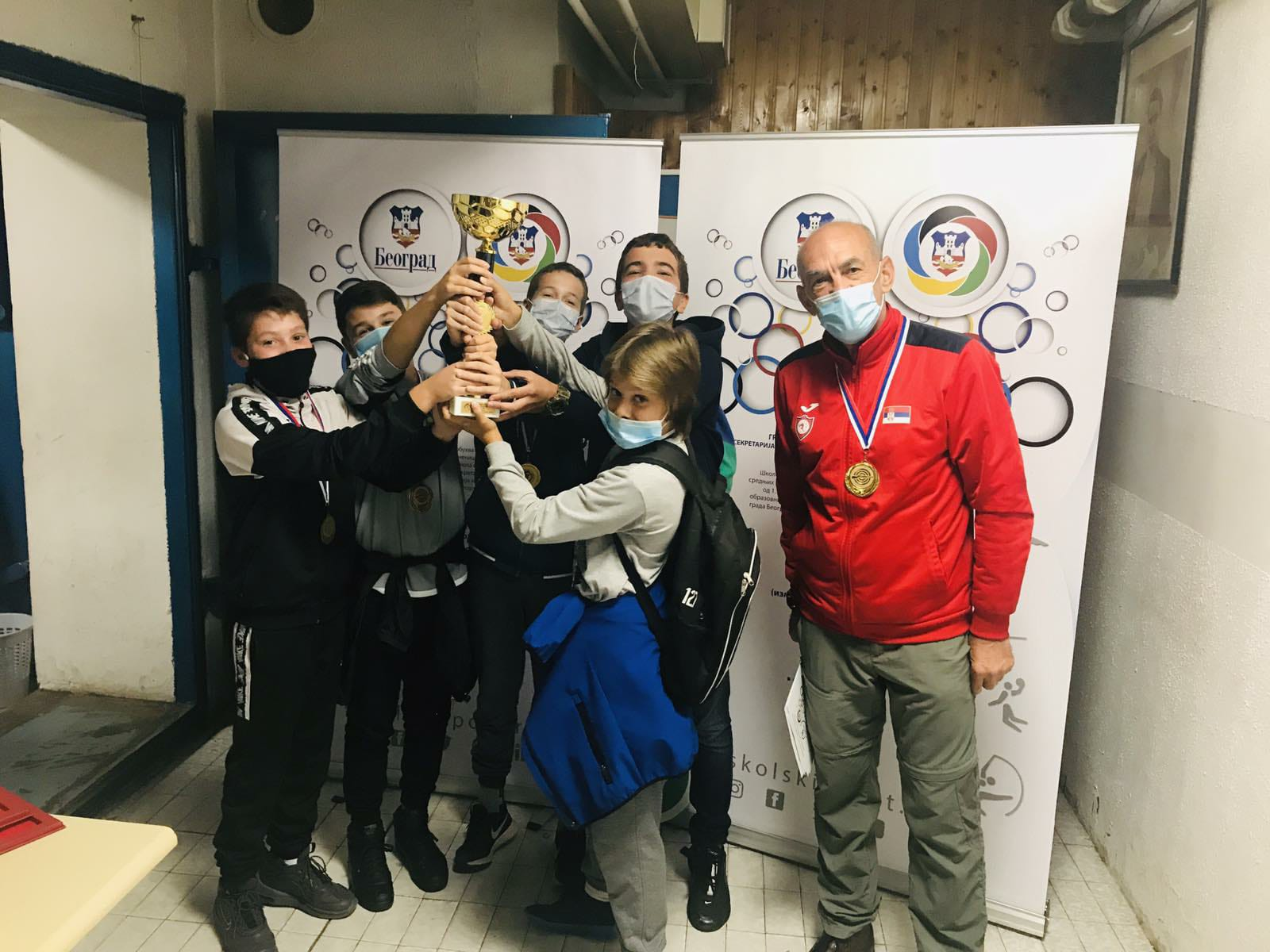"""CITY SHOOTING CHAMPIONSHIP-ELEMENTARY SCHOOL STUDENTS-INDIVIDUAL AND TEAM-08.10.2020. YEARS-SHOOTING CLUB """"NEW BELGRADE-USCE"""