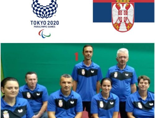 SERBIAN TABLE TENNIS PLAYERS PERFORM 25.08.2021. AT THE PARALYMPIC GAMES IN TOKYO! WE CHEER WITH ALL OUR HEART!